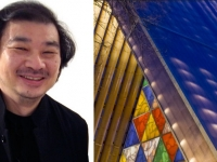 Shigeru Ban's cardboard church