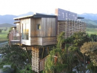 Hapuku Lodge, Kaikoura, South Island, New Zealand.  Photograph supplied.  SHD TRAVEL MARCH 2 HOTEL