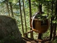 The Hemloft tree house, Canada
