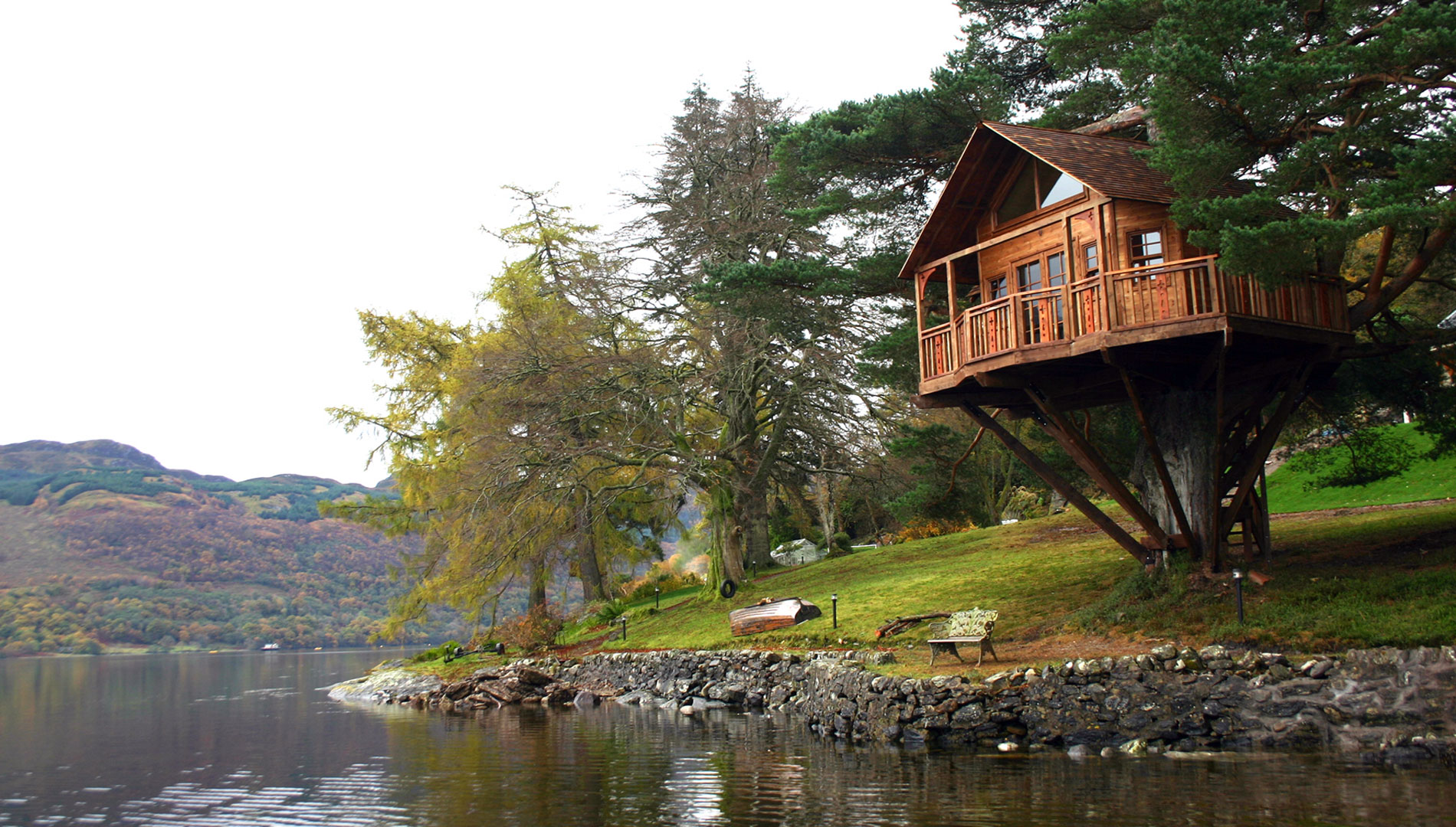 The Lodge on Loch Goil, Scotland
