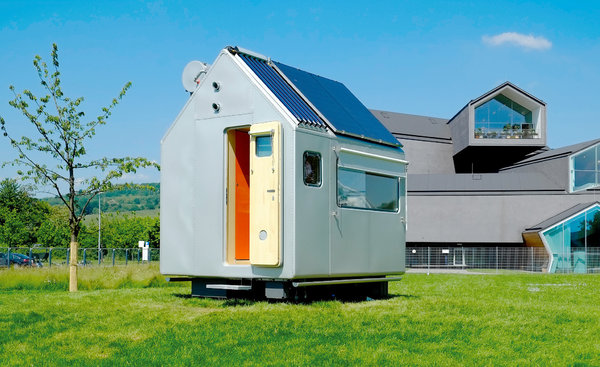 Diogenes Renzo Piano tiny house