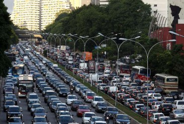 Pollution deadlier than road accidents in Sao Paulo |Sao Paulo Brazil Traffic