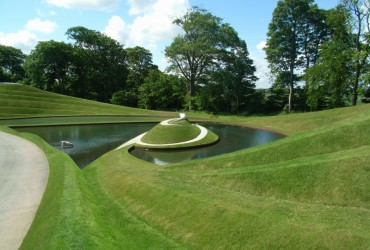 the garden of cosmic speculation in dumfries scotland whatagreenlife. Black Bedroom Furniture Sets. Home Design Ideas