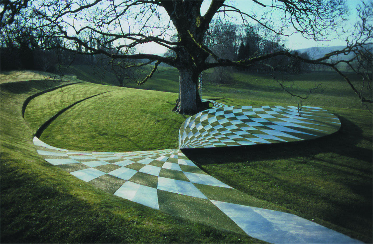 the garden of cosmic speculation in dumfries scotland. Black Bedroom Furniture Sets. Home Design Ideas