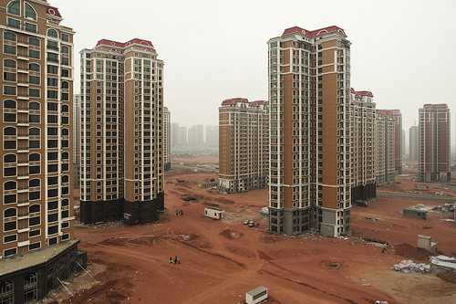 Ordos the chinese ghost town