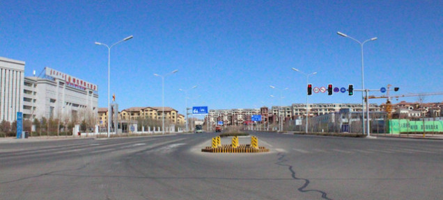 traffic in Ordos