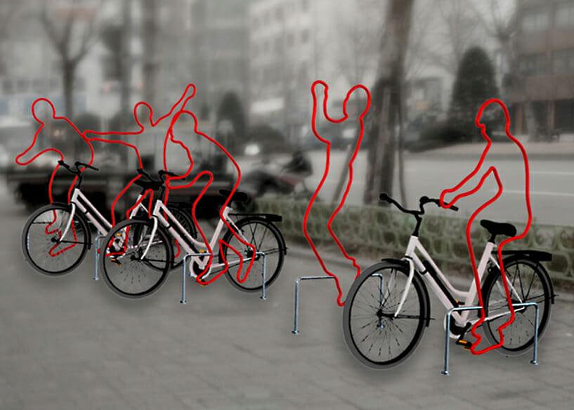 seoul bike rack