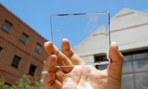 see-through solar panels