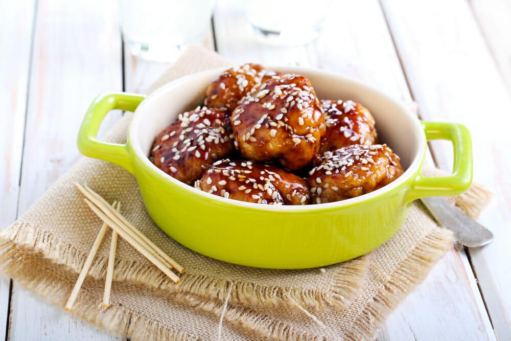 Sesame chikpea Meatballs