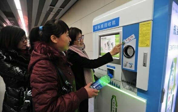 reverse vending machines in china