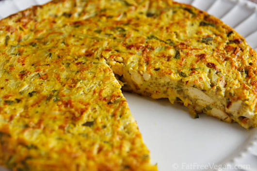 vegan omelette without eggs