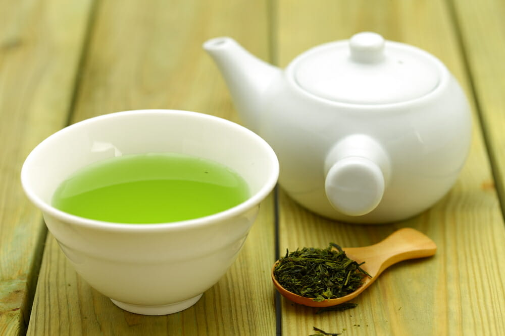 Natural health benefits of green tea