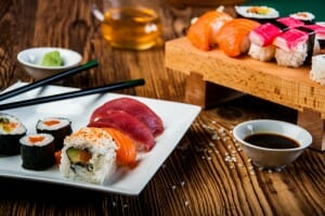 is eating sushi good for you