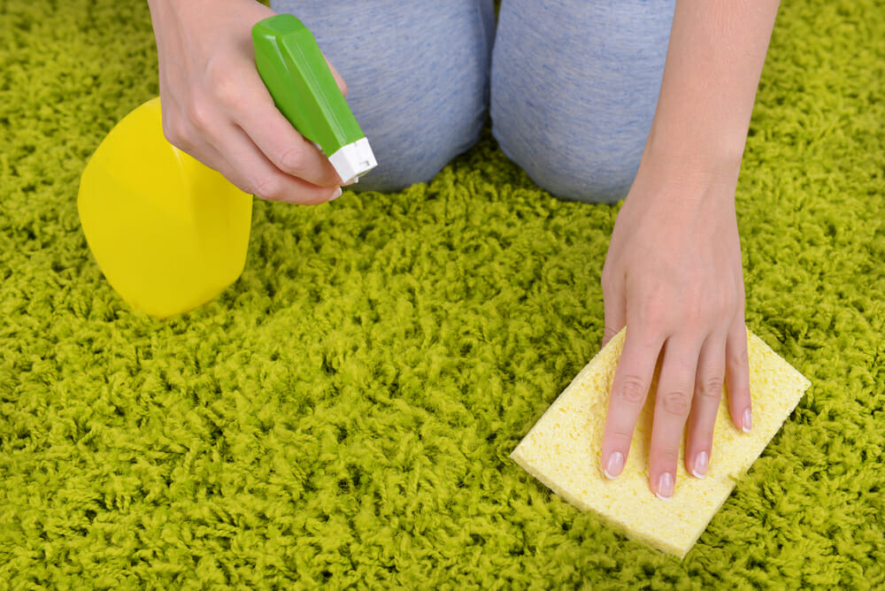 clean carpets naturally