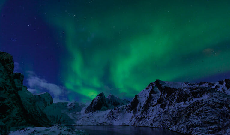Northern Lights and a fantastic scenery, the Lofoten Islands